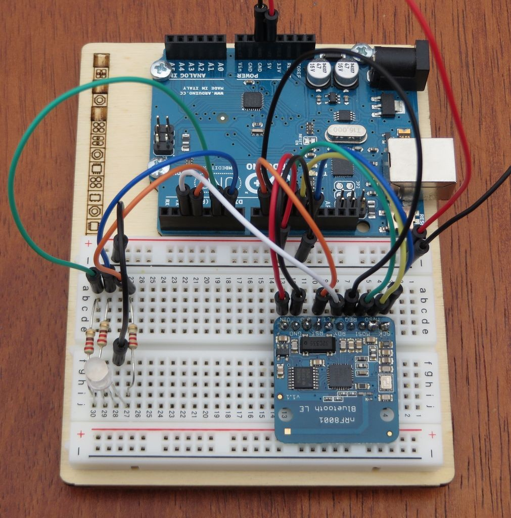 Kitefaster | Control LED light color via an Arduino and an